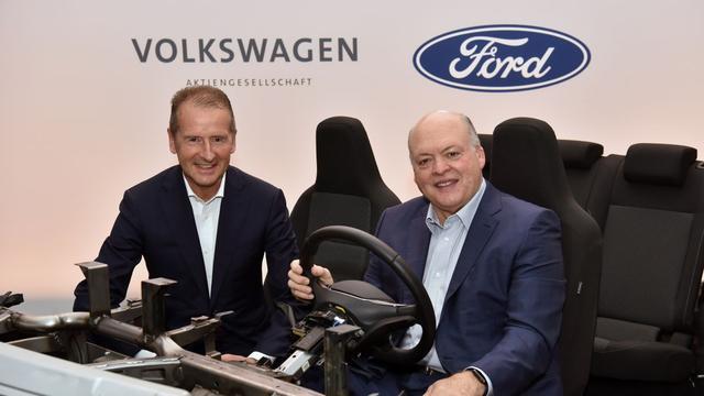 Ford maakt gebruik van de elektrische slagkracht van Volkswagen.