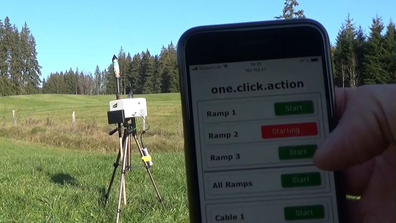 Met dit apparaat kun je vanaf je smartphone vuurwerk afsteken