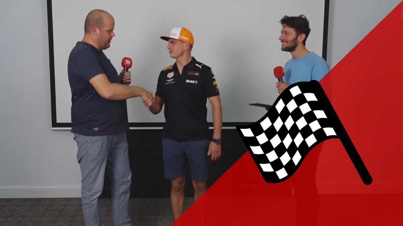 Vooruitblik F1 mét Max Verstappen: 'Ik heb titelstrijd opgegeven'