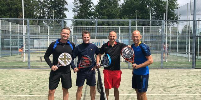 Arjen Robben wil padelsport groot gaan maken in Nederland