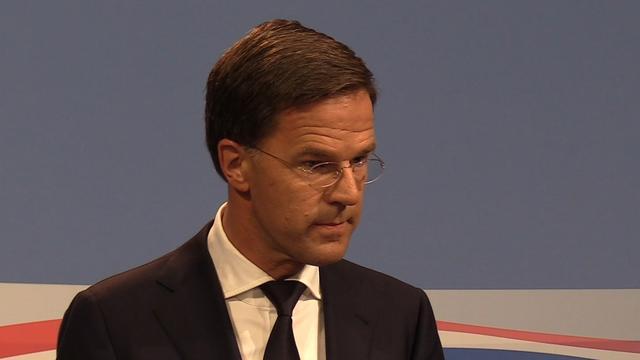 Rutte: 'Blok mag aanblijven na uitspraken over migratie'