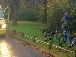 Een van fietsen was elektrisch