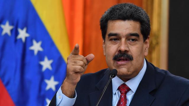 Venezolaanse president Maduro hield journalisten Amerikaanse zender vast