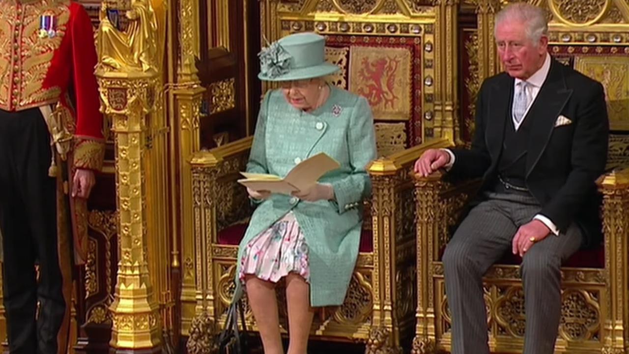 Koningin Elizabeth opent parlementaire jaar met Queen's Speech