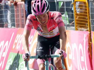 'Ik verlies hier de Giro'