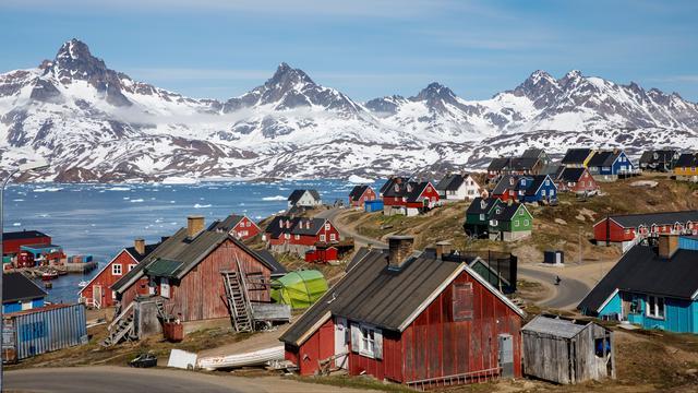 Europese hittegolf heeft zich naar Groenland verplaatst