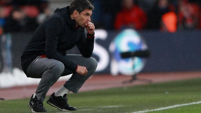 Degradatiekandidaat Southampton zet trainer Pellegrino aan de kant