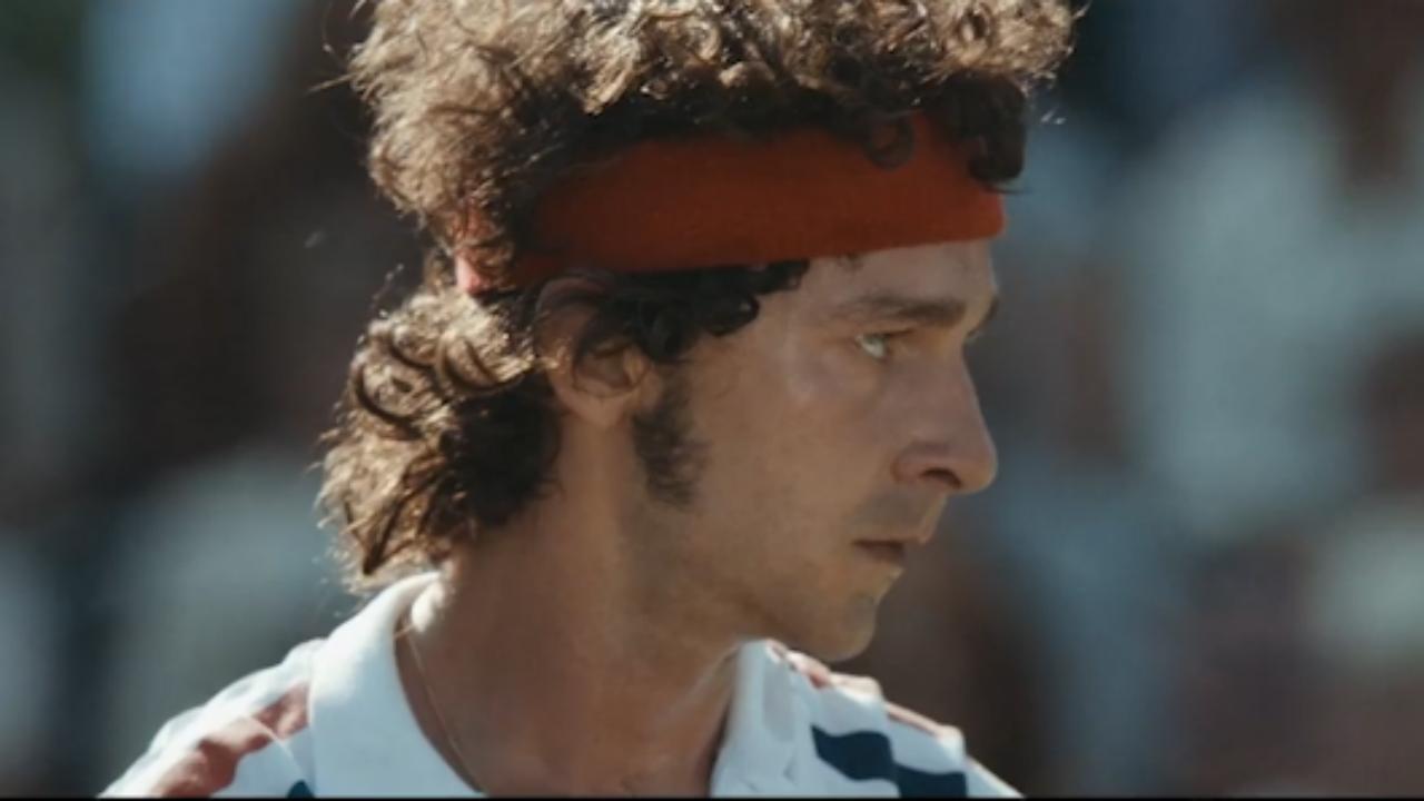 Rivaliteit tussen tennislegendes in nieuwe trailer Borg vs McEnroe