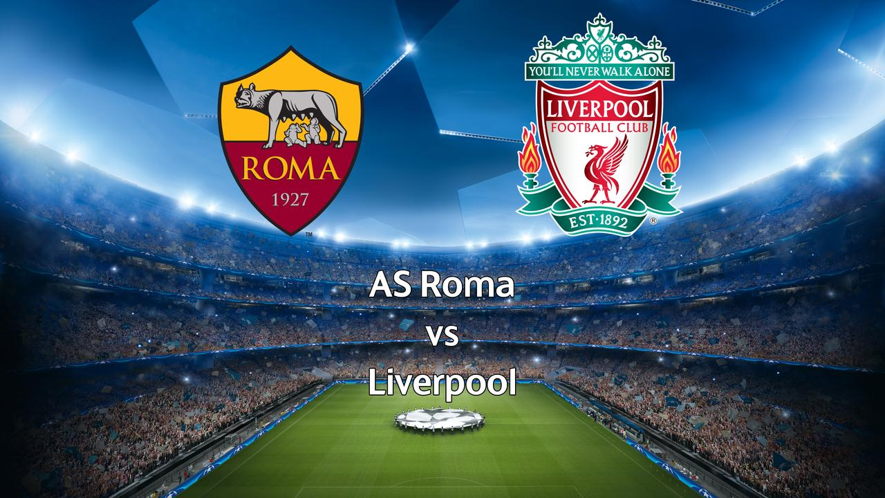 Live Champions League: AS Roma-Liverpool