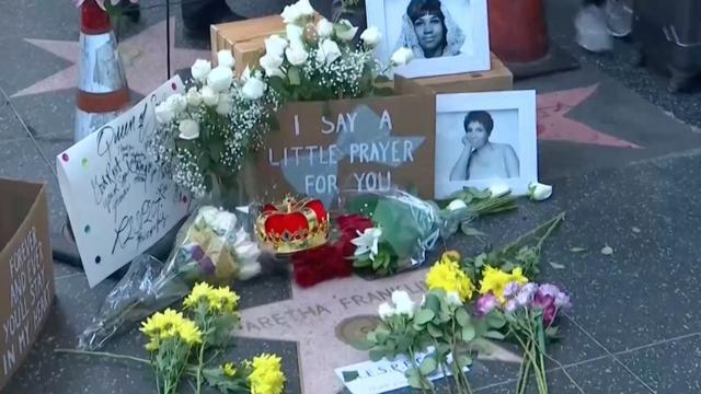 Live: Herdenking Aretha Franklin op Hollywood Walk of Fame