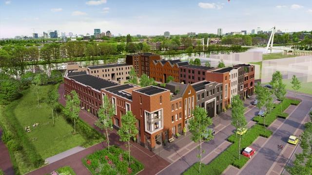 Bouw woningen bij Dafne Schippersbrug stilgelegd na faillissement bouwer