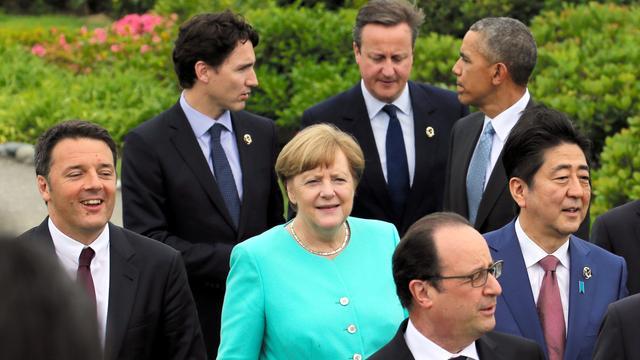Brexit volgens G7 ernstig risico voor groei wereldeconomie