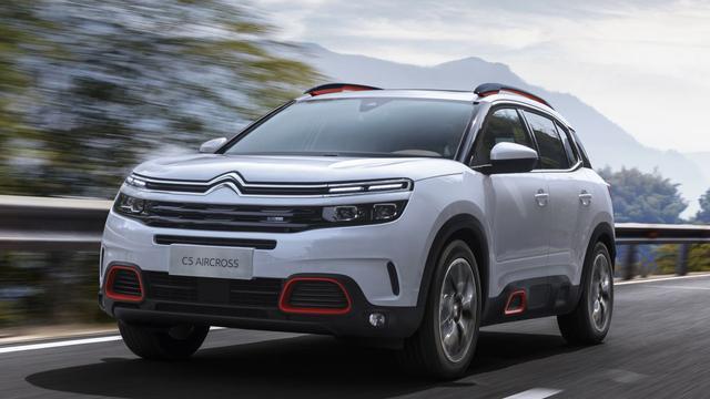 Citroën brengt meer details nieuwe SUV C5 Aircross naar buiten