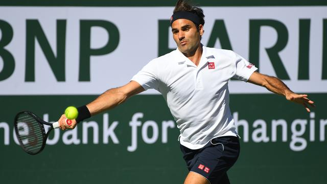 Federer treft Nadal in halve finales Masterstoernooi Indian Wells