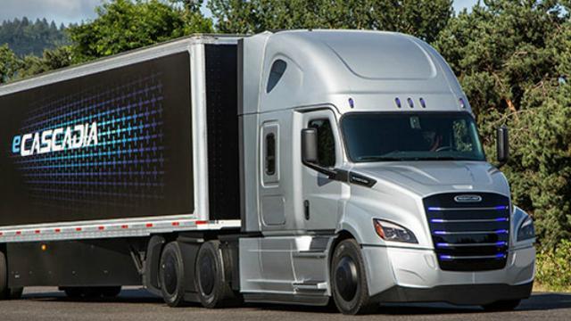 Automaker Daimler komt met elektrische trucks