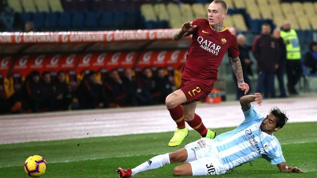 AS Roma-coach Di Francesco prijst Karsdorp na eerste duel in maanden