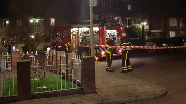 Veel rookontwikkeling bij brand in Bergen op Zoom