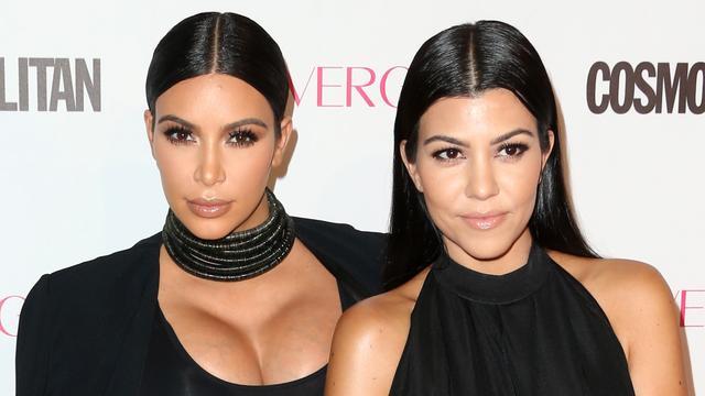 Kim Kardashian voelt zich volgens zus Kourtney nog niet goed