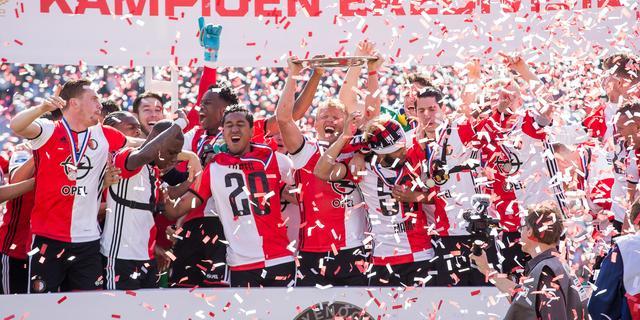 Feyenoord draait recordomzet in kampioensjaar