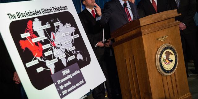 Maker Blackshades-malware krijgt ruim vier jaar cel