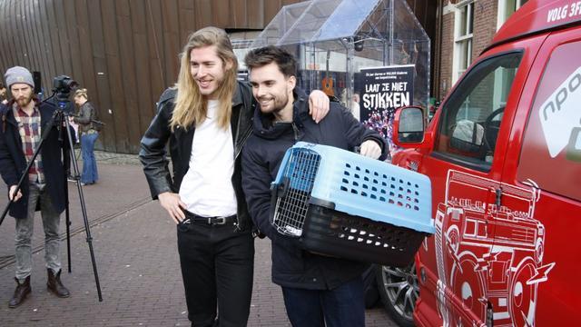 DJ's 3FM runnen Mezz tijdens Serious Request