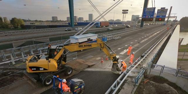 Verkeershinder Galecopperbrug komend weekend waarschijnlijk weer over