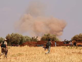 Veel slachtoffers door grote aanval op hoofdkwartier Jaysh al-Islam