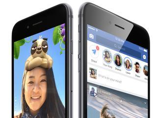 Verdwijnende verhalen gedeeld tussen Facebook en Messenger