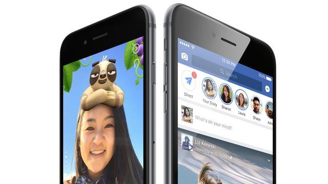 Stories op Facebook en Messenger hebben samen 300 miljoen gebruikers