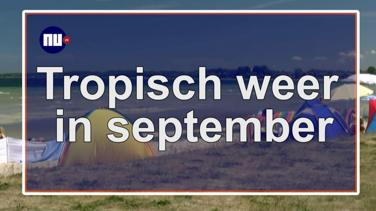 Tropisch weer in september