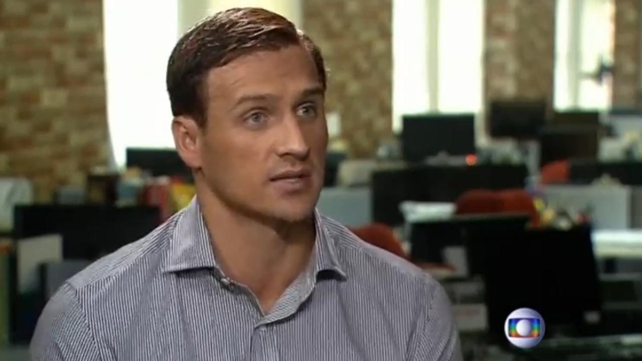 Zwemmer Lochte betuigt spijt op Braziliaanse tv-zender na wangedrag