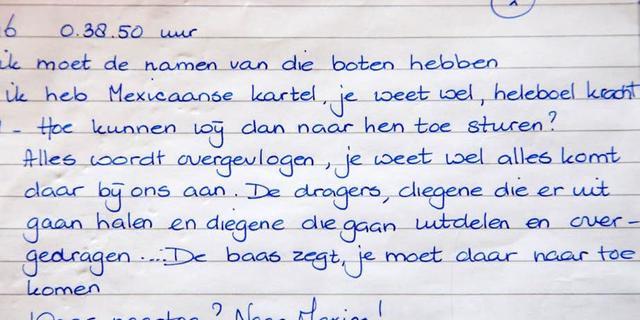 Gevoelig strafdossier grote drugszaak op straat beland in Utrecht