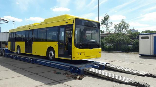 Nieuwe elektrische bussen komen aan in Utrecht