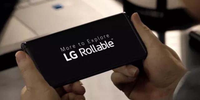 LG toont nieuwe smartphone met oprolbaar scherm
