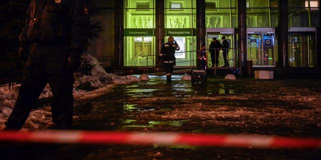 Rusland arresteert verdachte aanslag winkelcentrum Sint-Petersburg