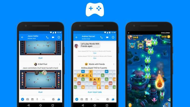 Facebook rolt Messenger-games uit naar alle gebruikers