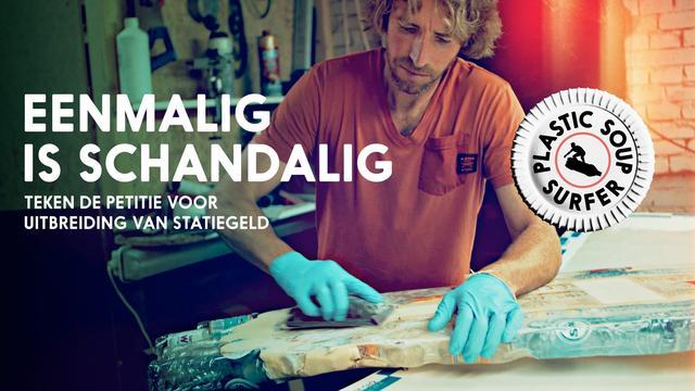 Plastic Soup Surfer wil vrijdag de Noordzee over