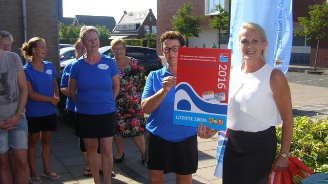 Landelijke zwemlicentie voor zwembad de Oester