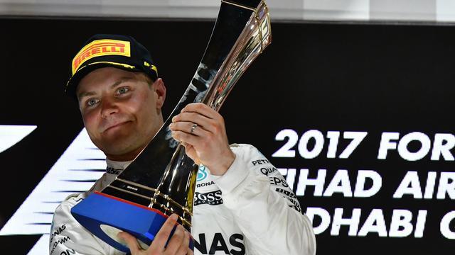 Bottas euforisch na 'heel belangrijke zege' in Abu Dhabi