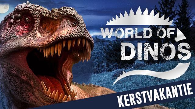 Bestel tickets voor World of Dinos met 20 procent korting