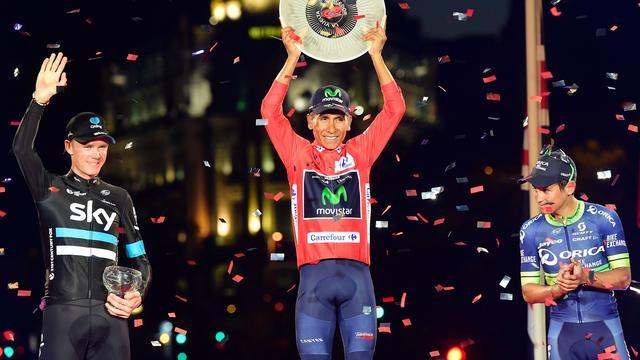 Quintana schrijft voor het eerst Ronde van Spanje op zijn naam