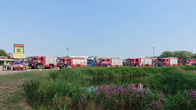 Duinbrand Heemskerk na uren onder controle