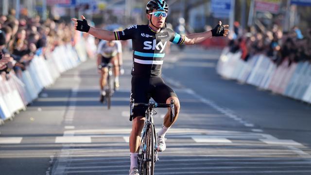Kwiatkowski verwijst Sagan ook in E3 Harelbeke naar tweede plaats