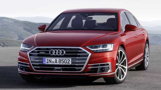 Audi presenteert nieuwe A8