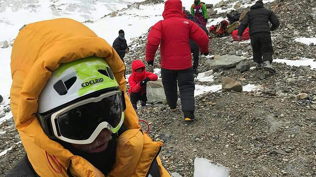 Alpiniste gered van 'gevaarlijke' berg Nanga Parbat Pakistan