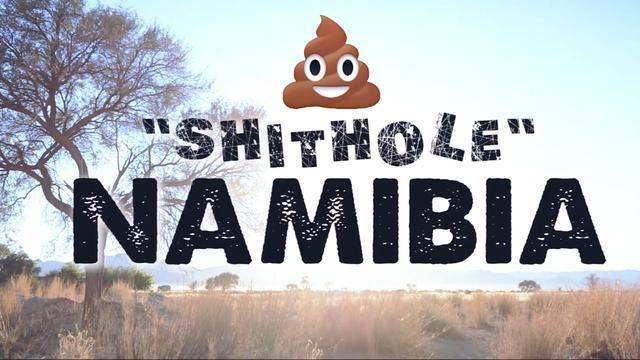 Namibië maakt spottende video na 'shithole'-rel Trump