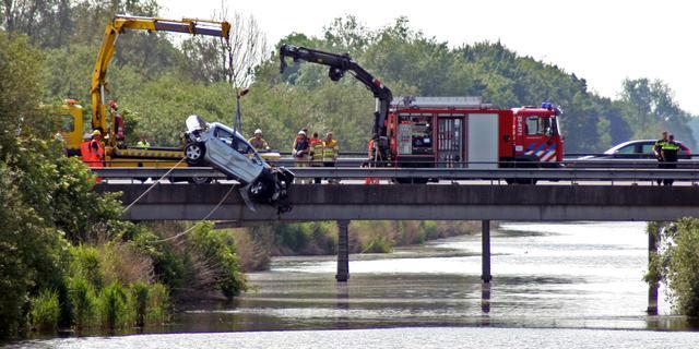 Drie mensen omgekomen bij ongeluk op de A6 bij Lelystad