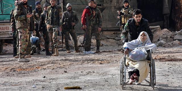 Rode Kruis: 'Extreem voorzichtig werken in Aleppo'