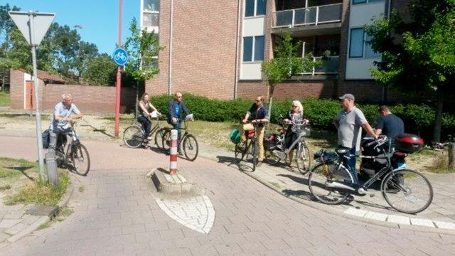 Gemeente verwijdert onnodige fietspalen