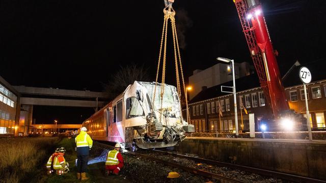 Spoor na treinongeluk bij Leeuwarden weer hersteld